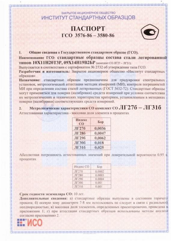 Паспорт на ЛГ31б