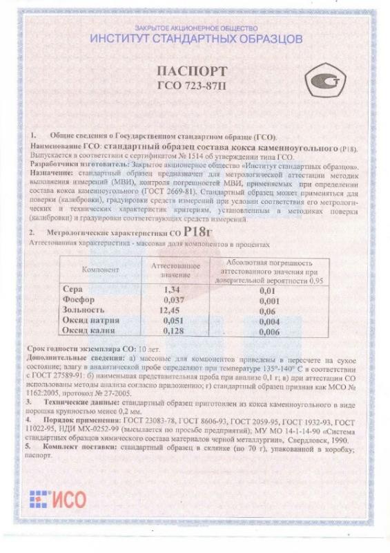 Паспорт на Р18г