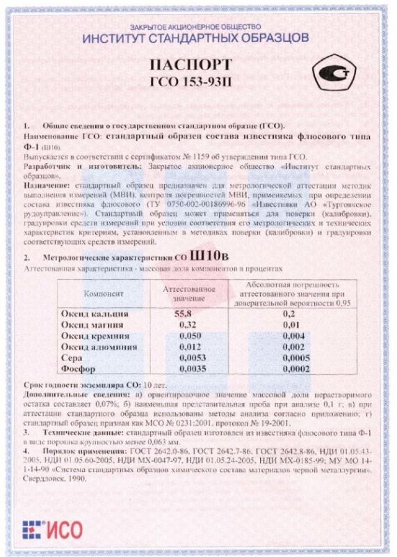 Паспорт на Ш10в