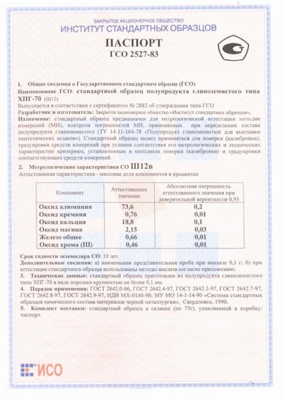 Паспорт на Ш12в