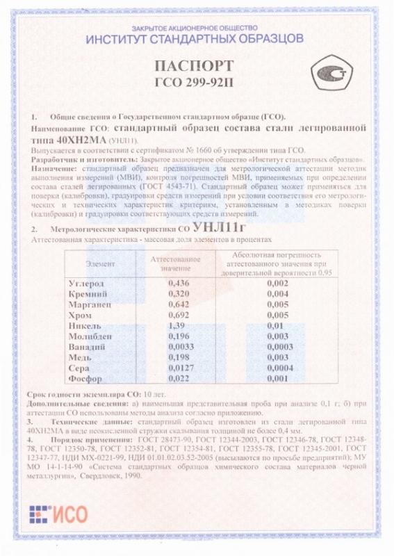 Паспорт на УНЛ11г